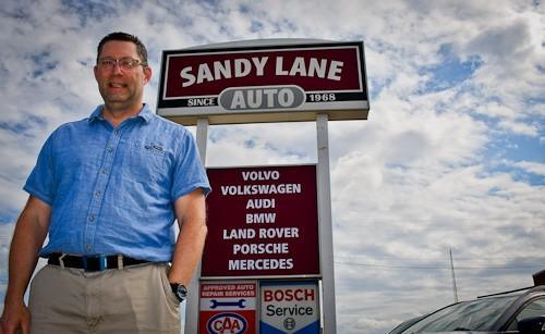 Car Care and Bighearted Banter, Bruce Marshall Finds Both at Sandy Lane