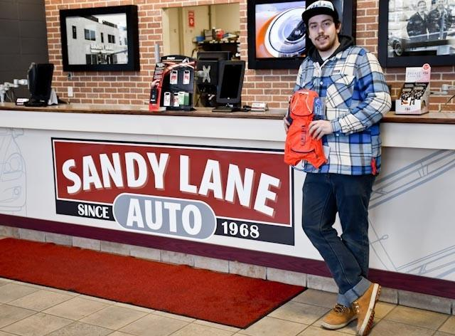 Yves Dempsey Brings His Car Back to Life at Sandy Lane